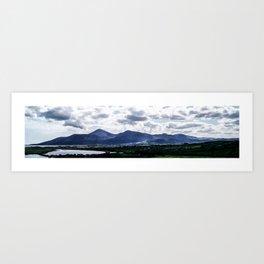 Mourne Mountains  Art Print