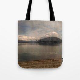 lake wanaka silent capture at sunset in new zealand Tote Bag