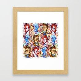 Tribesmen of the Omo Valley Framed Art Print
