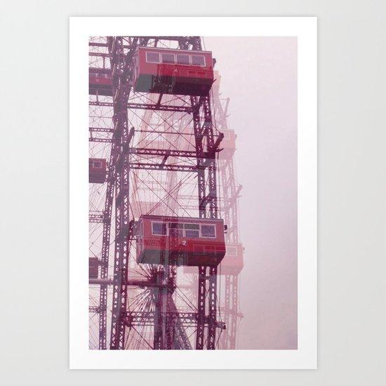 lunapark  Art Print