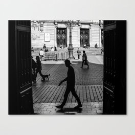Lille street Canvas Print