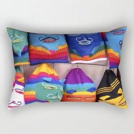 Bolivian Mask Rectangular Pillow