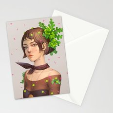 fibersugary-broccollihead Stationery Cards