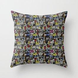 Siouxsie II Throw Pillow