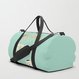 I don't care how many you had before me poster design Duffle Bag
