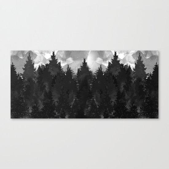 Winter Darkness Canvas Print