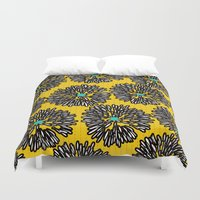 indigo Duvet Covers featuring Indigo by Simi Design