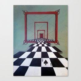 Mystic Door Canvas Print