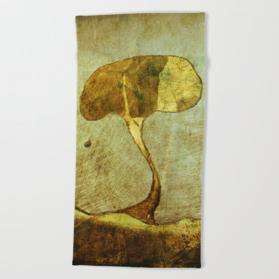 The Fallen Beach Towel