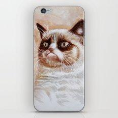 Grumpycat iPhone & iPod Skin