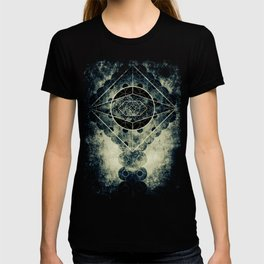 Sacred Geometry for your daily life -  SATURN EYE T-shirt
