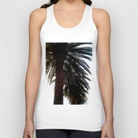 palm trees Tank Tops featuring Palm Trees by Moonshine Paradise