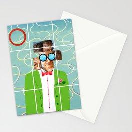 Hockney illustration Stationery Cards