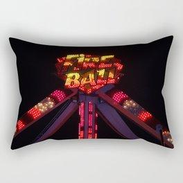 Fire Ball Rectangular Pillow