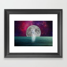 Passing Shadow Framed Art Print