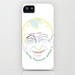 Typography - Douglas Adams iPhone Case