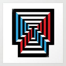 [T] Art Print