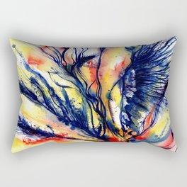 Organic Ecstasy No. 45 by Kathy Morton Stanion Rectangular Pillow