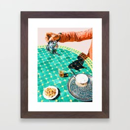 Chai #painting #digitalart Framed Art Print