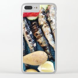Sardine Paradise Clear iPhone Case