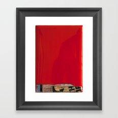 RED2 Framed Art Print