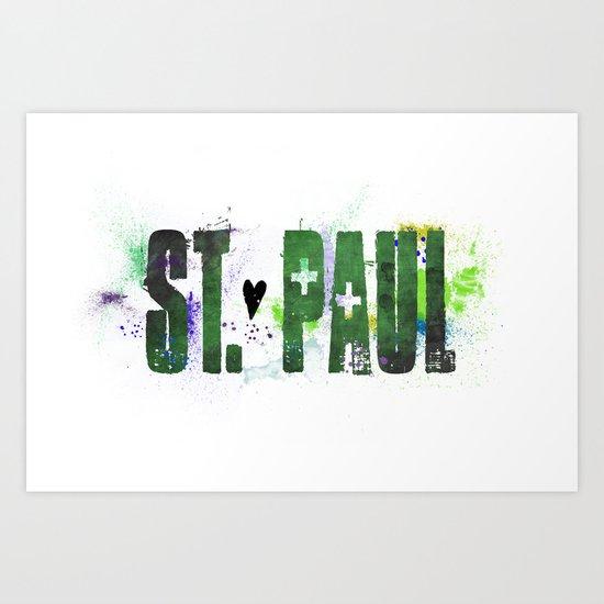 St. Paul Art Print