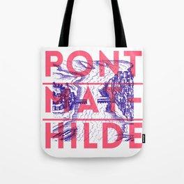 Pont-Mathilde, Rouen Tote Bag