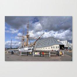 HMS Gannett Canvas Print