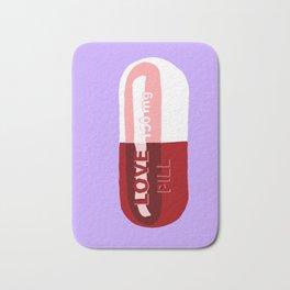Love Pill Lavender Bath Mat