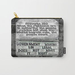 Scripture Pictures 12 Carry-All Pouch