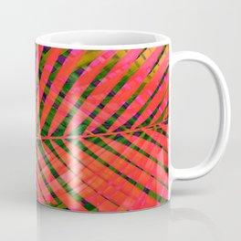 COLORFUL TROPICAL LEAVES no6 Coffee Mug