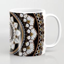Copper Mandala Coffee Mug