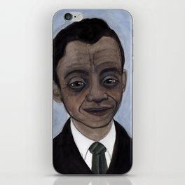 James Baldwin Literary Portrait iPhone Skin