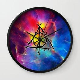 Deathly Hallows Wall Clock