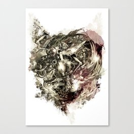 Hate Machine Canvas Print