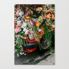 Flower Bomb Canvas Print