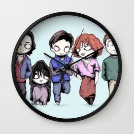 Saturday Detention Wall Clock