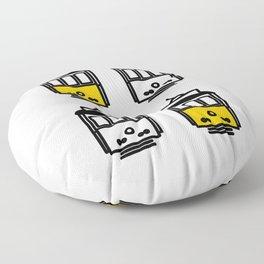 Get a ride #2 Floor Pillow