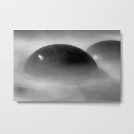 Oh Balls Bowling Ball Beach Northern California Metal Print