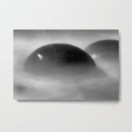 Oh Balls Bowling Ball Beach Northern California Metal Print