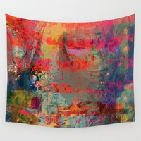 game Wall Tapestries featuring Game Over by Ganech joe
