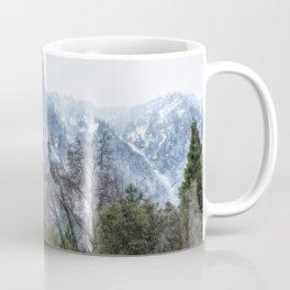 Sentinel Rock, Mist and Trees Coffee Mug