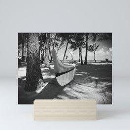 Kuau Hawaii Outrigger Canoe Paia Maui Hawaii Mini Art Print