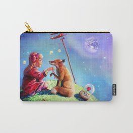 The little princess and the fox Carry-All Pouch