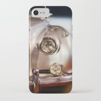 silver iPhone & iPod Cases featuring Silver by Lia Bernini
