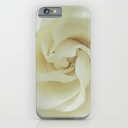 Gardenia Romance iPhone Case
