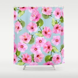 Ibiscus Dance Shower Curtain
