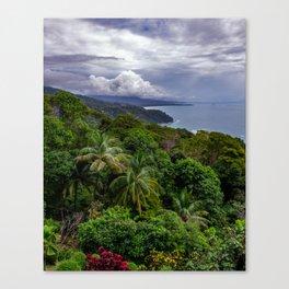 Villas Alturas Costa Rica View Canvas Print
