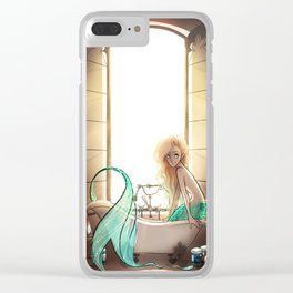 Don't Live so Far from the Sea Clear iPhone Case