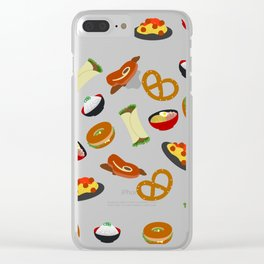 all the food Clear iPhone Case